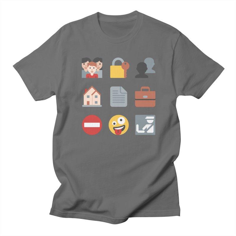 Fourth Emojiment Men's T-Shirt by Techdirt Gear