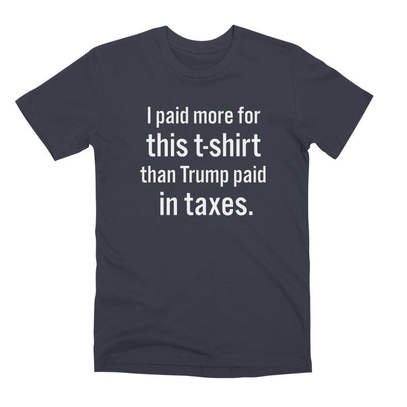 Trump's Taxes Men's T-Shirt by Techdirt Gear