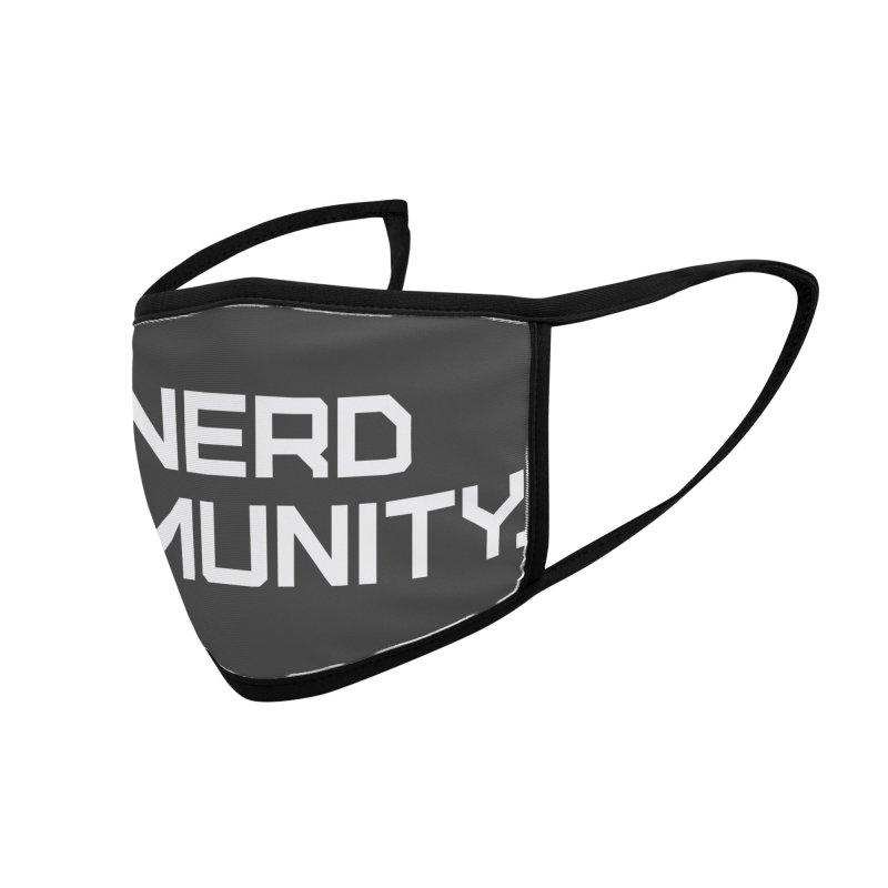 Nerd Immunity Accessories Face Mask by Techdirt Gear