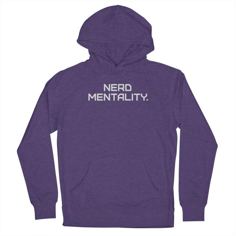 Nerd Mentality Men's Pullover Hoody by Techdirt Gear