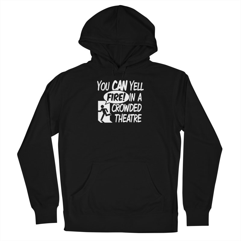 Fire In A Crowded Theatre Men's Pullover Hoody by Techdirt Gear