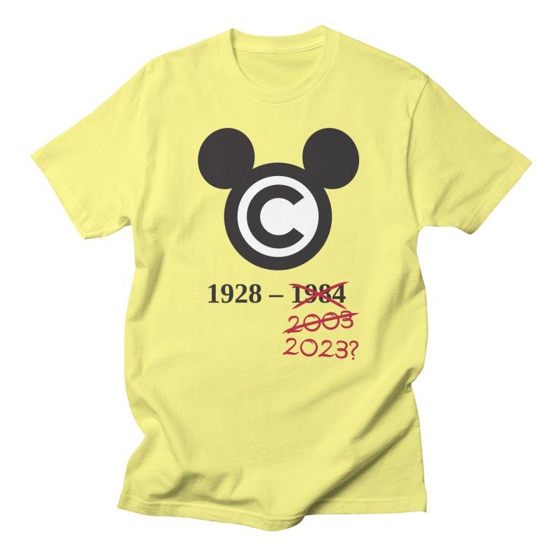 Copymouse Men's T-Shirt by Techdirt Gear