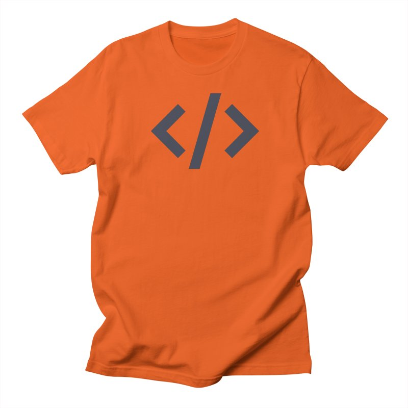 Code - Gray Men's T-Shirt by TechMasters Swag Shop