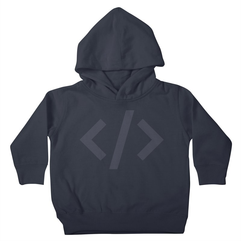 Code - Gray Kids Toddler Pullover Hoody by TechMasters Swag Shop