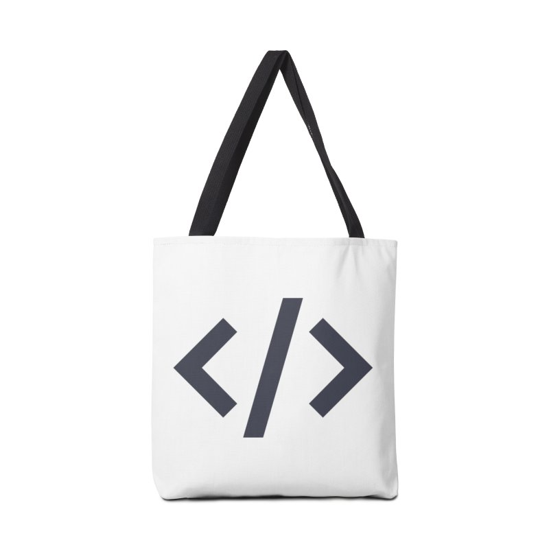 Code - Gray Accessories Bag by TechMasters Swag Shop