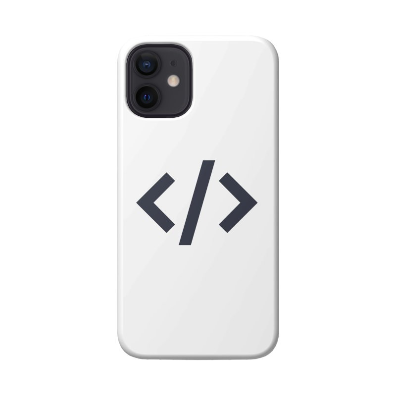 Code - Gray Accessories Phone Case by TechMasters Swag Shop