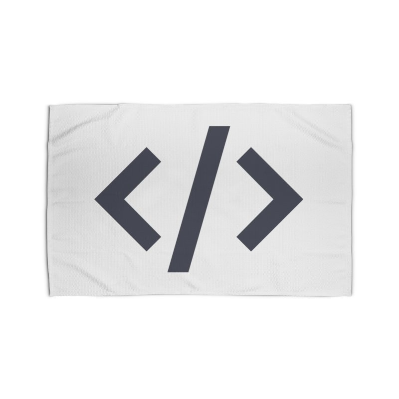 Code - Gray Home Rug by TechMasters Swag Shop