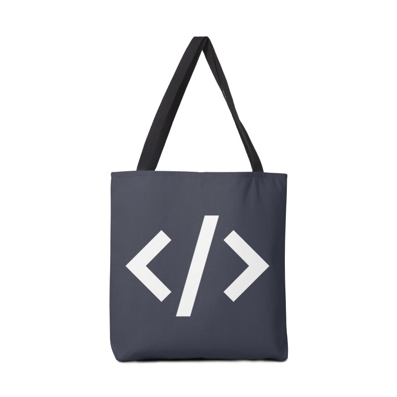 Code - White Accessories Bag by TechMasters Swag Shop
