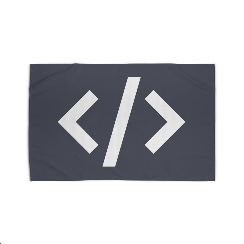 Code - White Home Rug by TechMasters Swag Shop