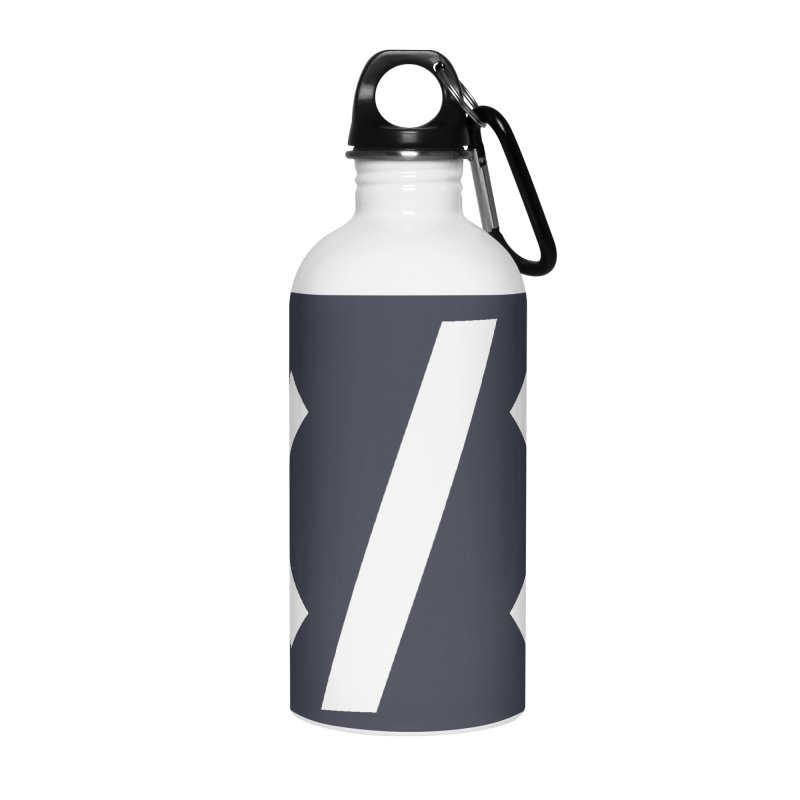Code - White Accessories Water Bottle by TechMasters Swag Shop