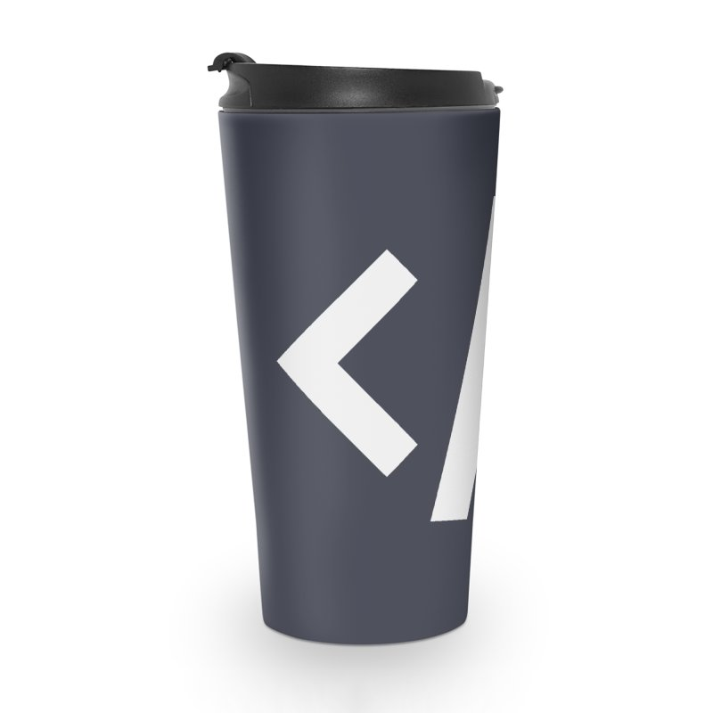Code - White Accessories Travel Mug by TechMasters Swag Shop