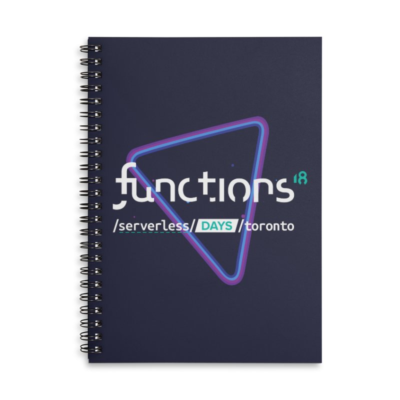 Functions 2018 Accessories Lined Spiral Notebook by TechMasters Swag Shop