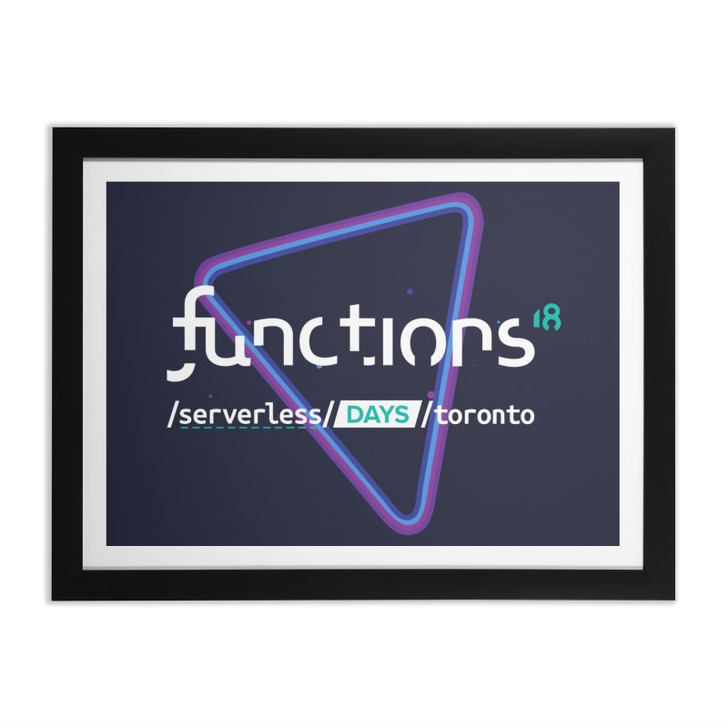 Functions 2018 Home Framed Fine Art Print by TechMasters Swag Shop
