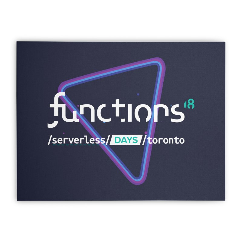 Functions 2018 Home Stretched Canvas by TechMasters Swag Shop