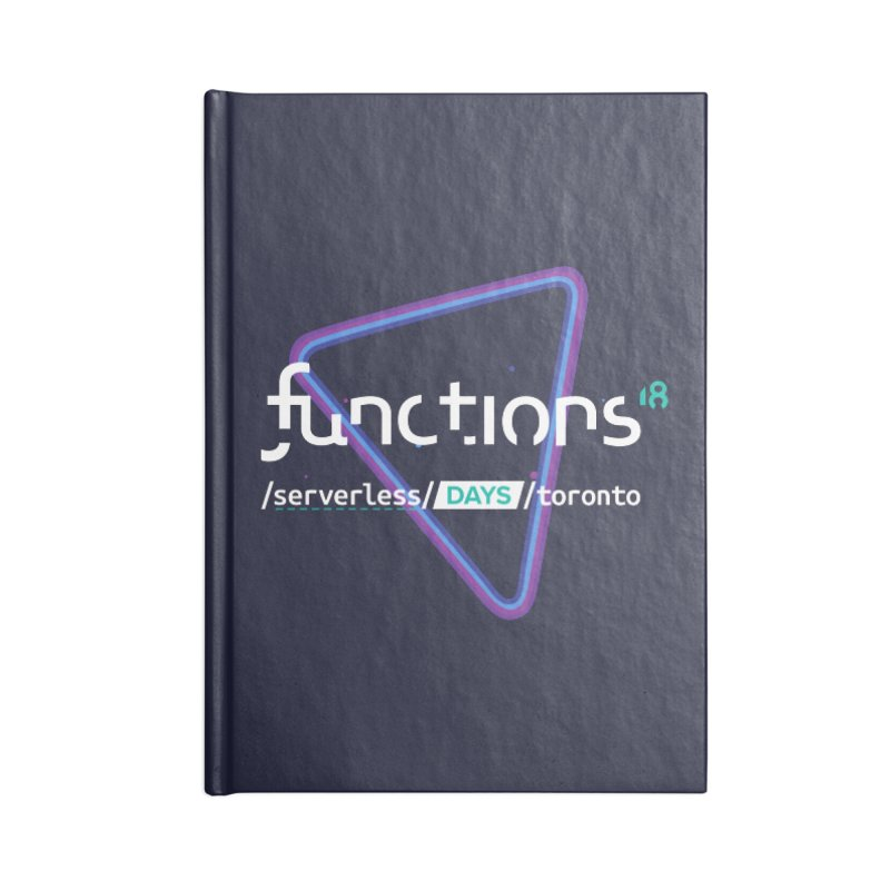 Functions 2018 Accessories Blank Journal Notebook by TechMasters Swag Shop
