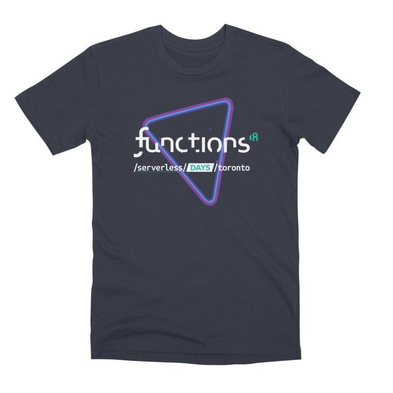 Functions 2018 Men's Premium T-Shirt by TechMasters Swag Shop