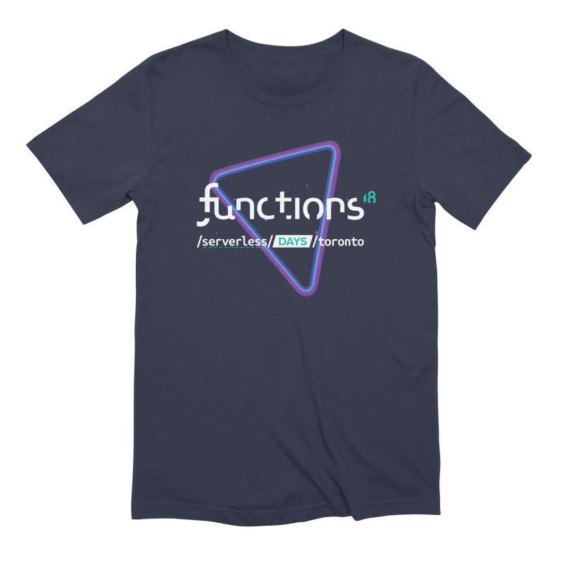 Functions 2018 Men's Extra Soft T-Shirt by TechMasters Swag Shop