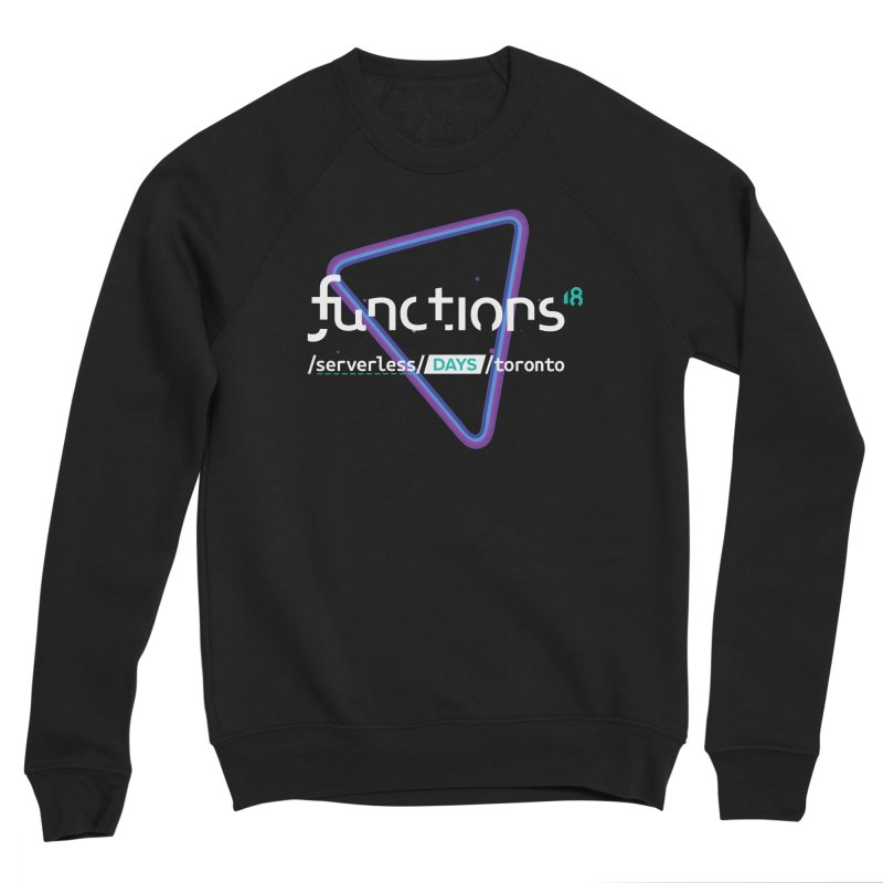 Functions 2018 Men's Sponge Fleece Sweatshirt by TechMasters Swag Shop