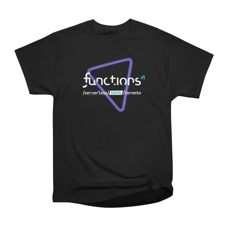Functions 2018 Women's Heavyweight Unisex T-Shirt by TechMasters Swag Shop