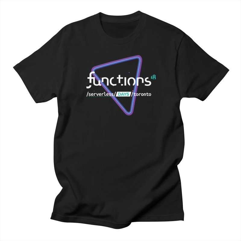 Functions 2018 Women's Regular Unisex T-Shirt by TechMasters Swag Shop