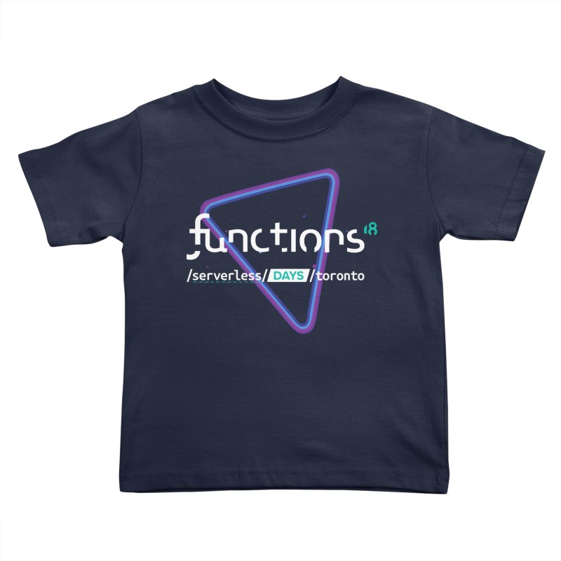Functions 2018 Kids Toddler T-Shirt by TechMasters Swag Shop