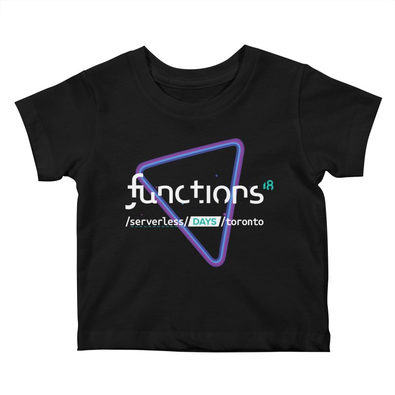 Functions 2018 Kids Baby T-Shirt by TechMasters Swag Shop