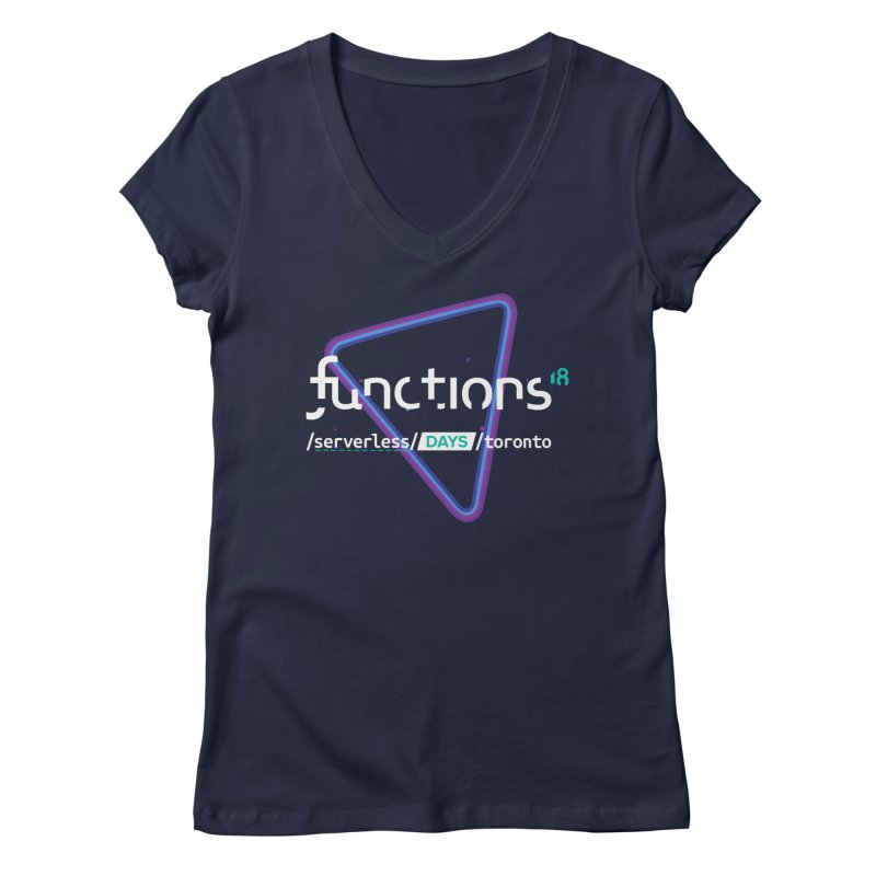 Functions 2018 Women's Regular V-Neck by TechMasters Swag Shop
