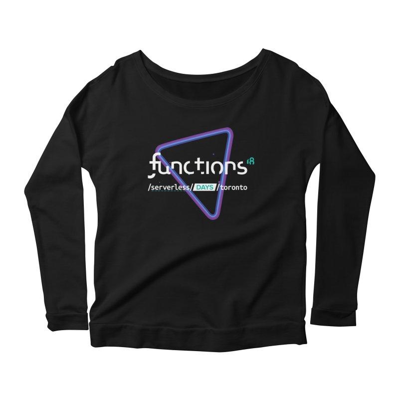 Functions 2018 Women's Scoop Neck Longsleeve T-Shirt by TechMasters Swag Shop