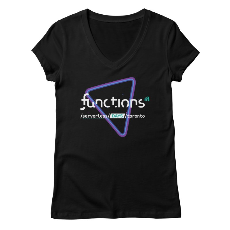 Functions 2018 Women's V-Neck by TechMasters Swag Shop