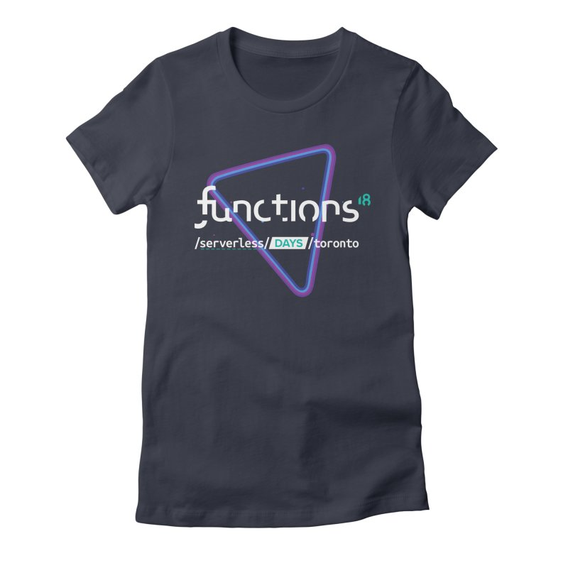 Functions 2018 Women's Fitted T-Shirt by TechMasters Swag Shop