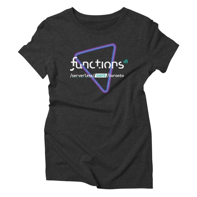Functions 2018 Women's Triblend T-Shirt by TechMasters Swag Shop