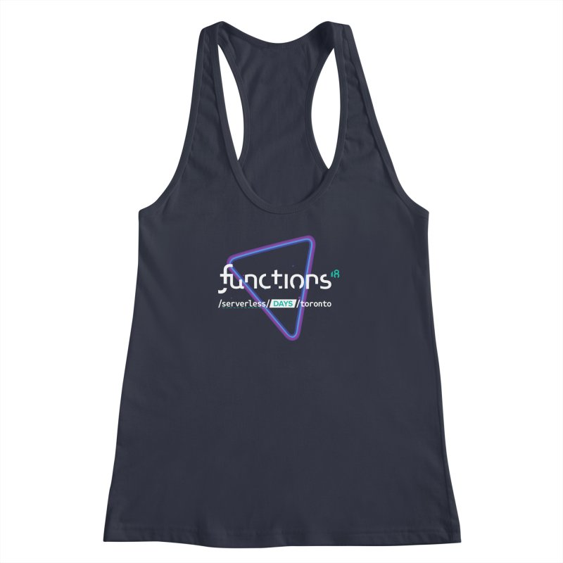 Functions 2018 Women's Racerback Tank by TechMasters Swag Shop
