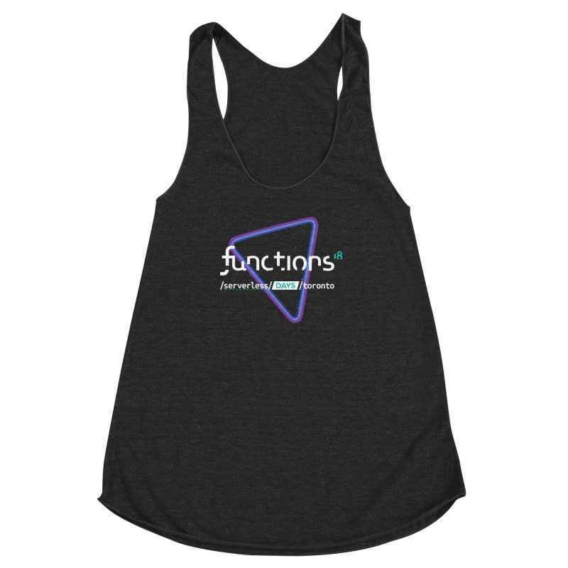 Functions 2018 Women's Racerback Triblend Tank by TechMasters Swag Shop