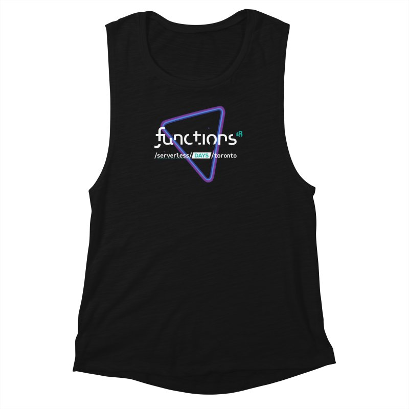 Functions 2018 Women's Muscle Tank by TechMasters Swag Shop