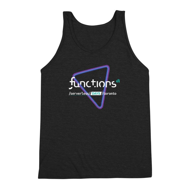 Functions 2018 Men's Triblend Tank by TechMasters Swag Shop
