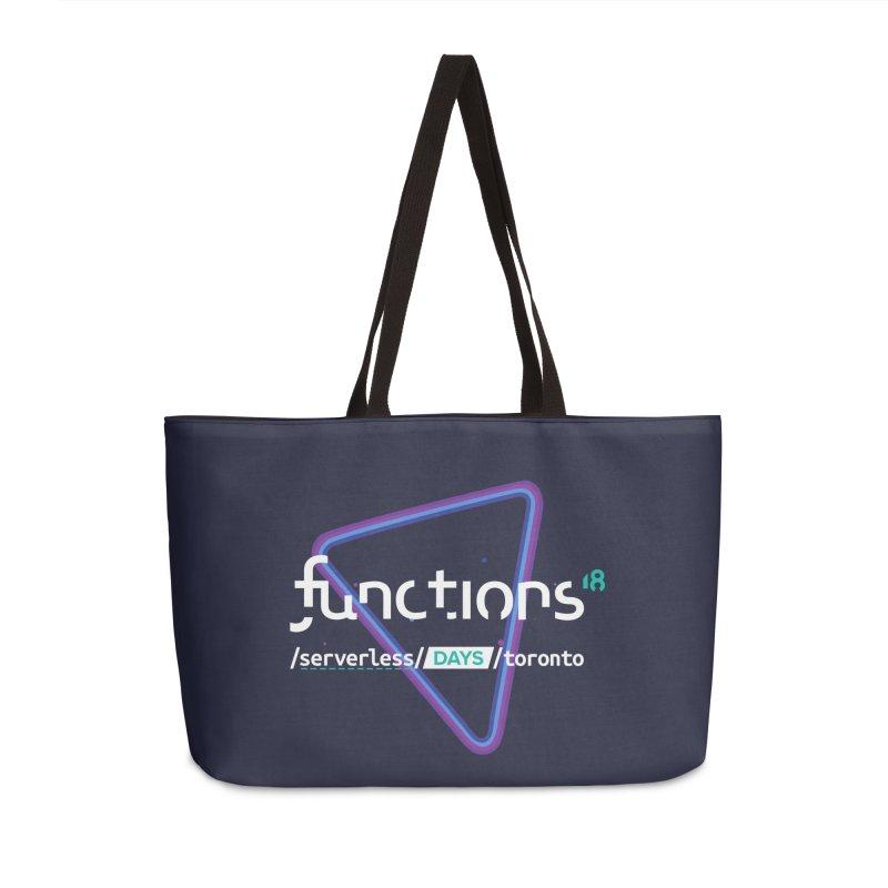 Functions 2018 Accessories Weekender Bag Bag by TechMasters Swag Shop