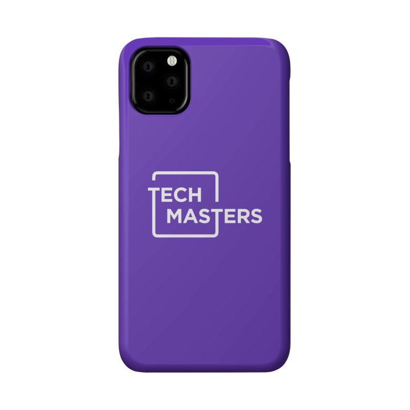 Tech Masters Logo Accessories Phone Case by TechMasters Swag Shop