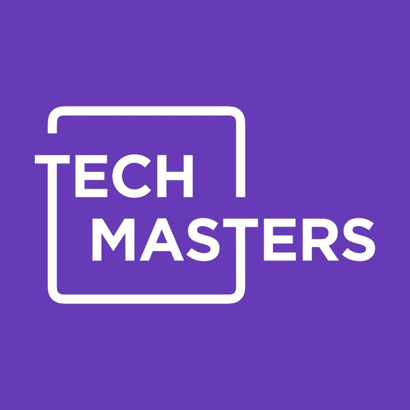 Tech Masters Logo Men's T-Shirt by TechMasters Swag Shop