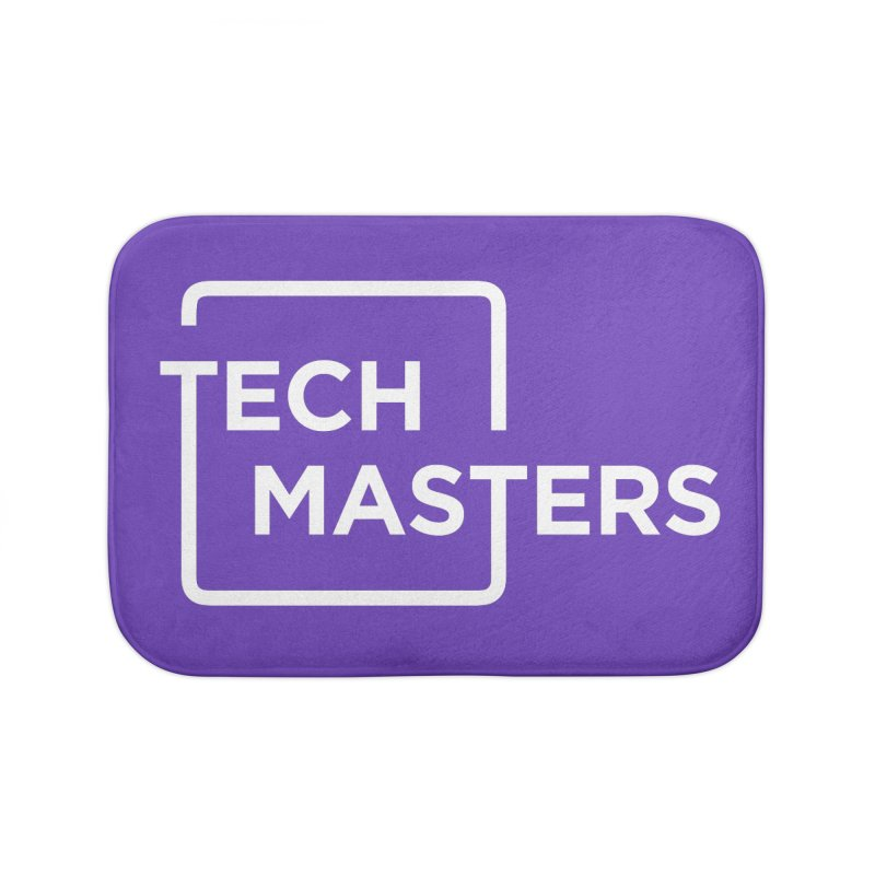 Tech Masters Logo Home Bath Mat by TechMasters Swag Shop