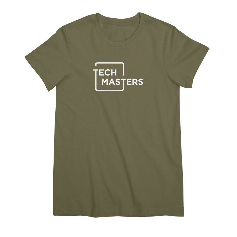 Tech Masters Logo Women's Premium T-Shirt by TechMasters Swag Shop