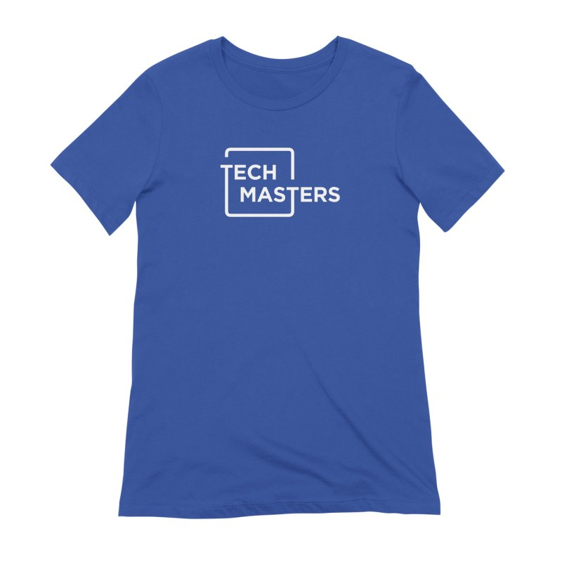 Tech Masters Logo Women's Extra Soft T-Shirt by TechMasters Swag Shop