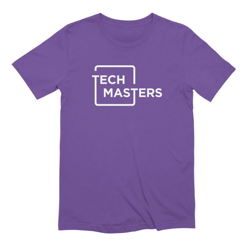 Tech Masters Logo Men's Extra Soft T-Shirt by TechMasters Swag Shop