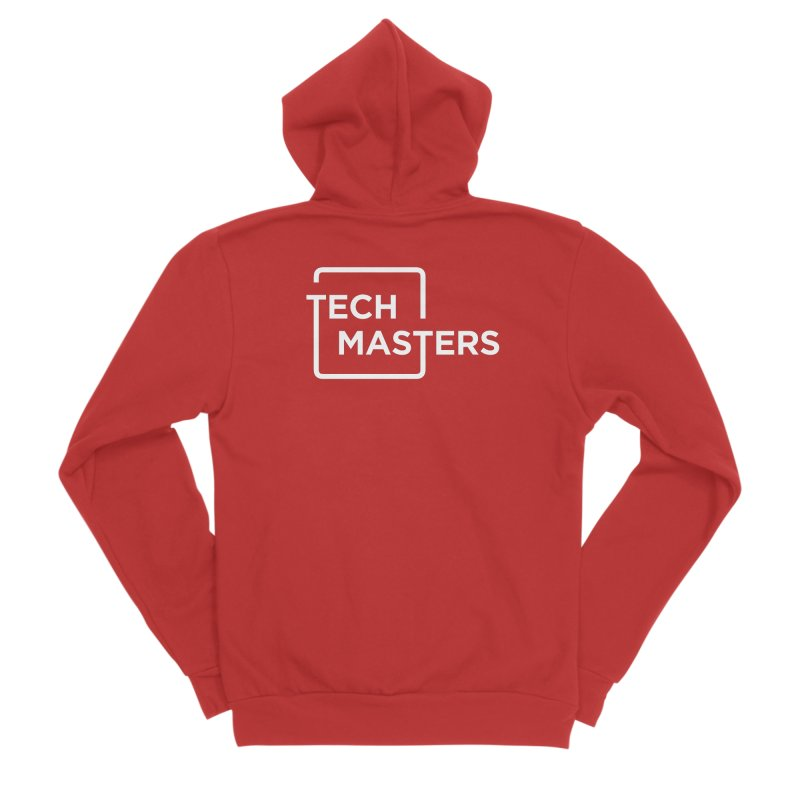 Tech Masters Logo Men's Zip-Up Hoody by TechMasters Swag Shop