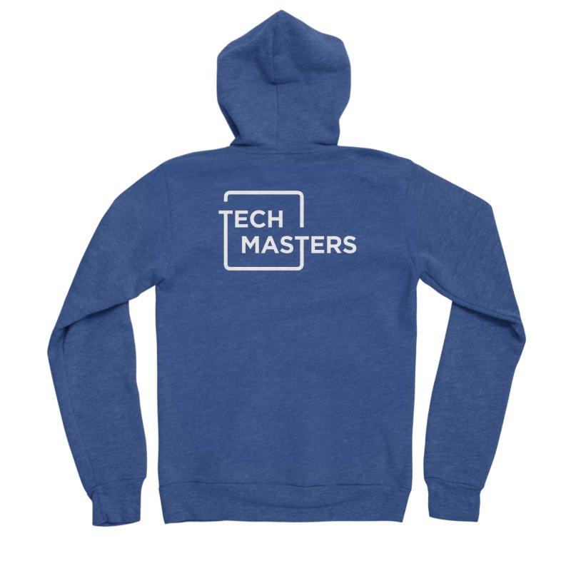 Tech Masters Logo Men's Sponge Fleece Zip-Up Hoody by TechMasters Swag Shop