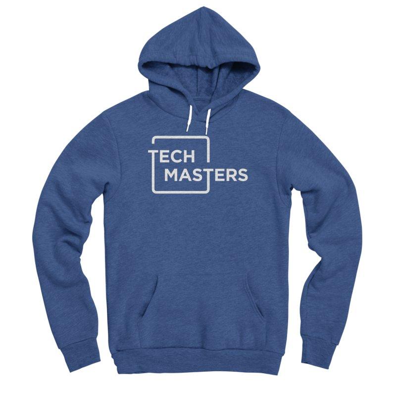 Tech Masters Logo Men's Sponge Fleece Pullover Hoody by TechMasters Swag Shop