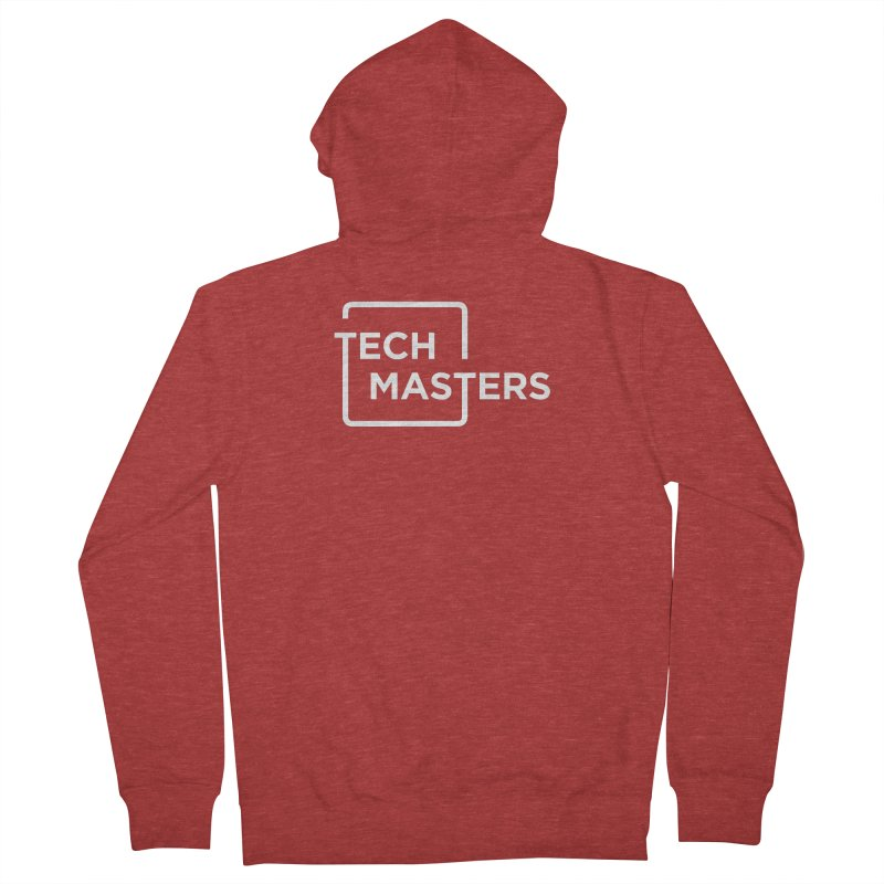 Tech Masters Logo Women's French Terry Zip-Up Hoody by TechMasters Swag Shop