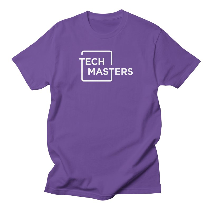 Tech Masters Logo Men's Regular T-Shirt by TechMasters Swag Shop