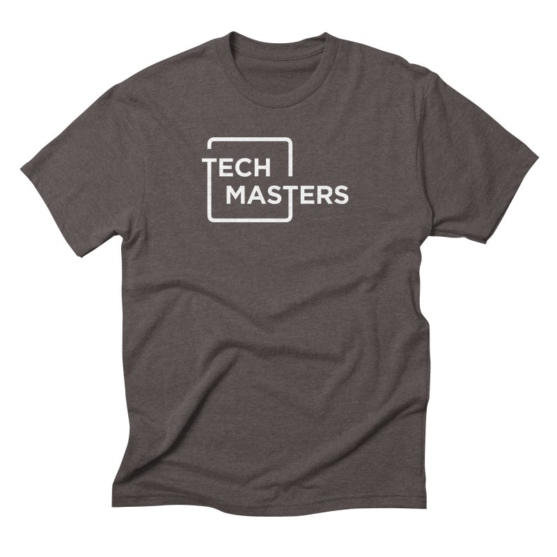 Tech Masters Logo Men's Triblend T-Shirt by TechMasters Swag Shop