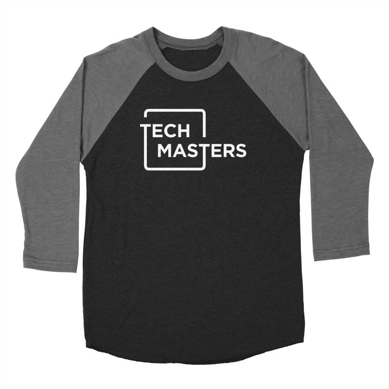 Tech Masters Logo Women's Baseball Triblend Longsleeve T-Shirt by TechMasters Swag Shop