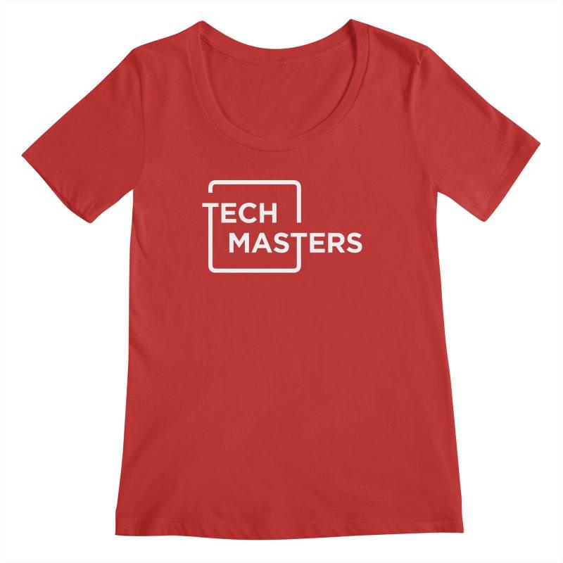 Tech Masters Logo Women's Regular Scoop Neck by TechMasters Swag Shop